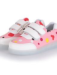 niños 'zapatos de LED al aire libre / deportivo / a zapatillas de deporte casuales de cuero sintético azul / rosa / gris