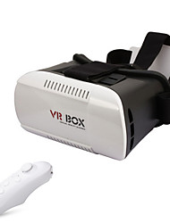 "VR BOX 1.0 Version VR Virtual Reality Glasses + Smart Bluetooth Wireless Mouse for 3.5~6.0"" Phones"