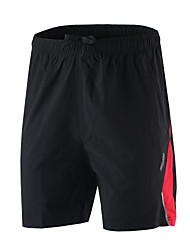 Running Shorts / Bottoms Men's Breathable / Quick Dry / Soft / Lightweight Materials / Reflective Strips / Reduces ChafingSpandex /