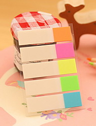 Half Color Stripe Self-Stick Notes(1 PCS)