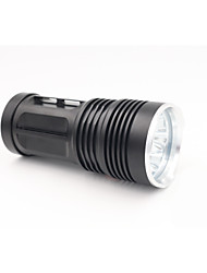 Lights LED Flashlights/Torch LED 7000 Lumens 2 Mode Cree T6 18650 WaterproofCamping/Hiking/Caving Everyday Use Diving/Boating