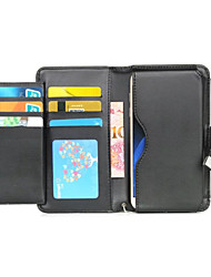 For Nokia Case Case Cover Card Holder Wallet Full Body Case Solid Color Hard PU Leather for NokiaNokia 6 Nokia Lumia 850 Nokia Lumia 640