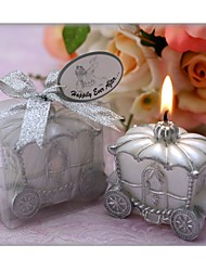 Happily Ever After Carriage Candle Favor