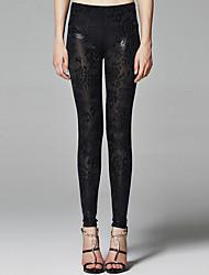 ZigZag® Women's Mid Rise Slim Black Casual Pants - 11504