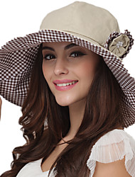 Summer Hats Floppy Sun Hat Cotton Beach Hat Ladies Solid Color Brimmed Hat UV