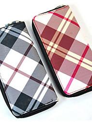 Large Multi-purpose Zipper bag Purse Leatherette Clutch Card & ID Holder Coin Purse
