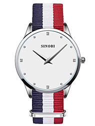 SINOBI® Women's Watch Classic Slim Casual Watches For Luxury Brand Fashion Clock Males Quartz Wristwatch Cool Watches Unique Watches