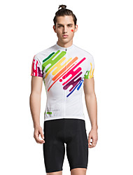 Tasdan Cycling Clothing Men's Cycling Sets  Cycling Jerseys Short sleeve  + Cycling Shorts with CoolMax GEL Pad