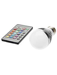 Ferngesteuert LED Kugelbirnen A50 E26/E27 3W LM K 1 RGB AC 85-265 V
