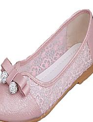 Синий / Розовый / Белый-Женская обувь-Для прогулок / На каждый день-PU-На плоской подошве-Балетки-Обувь на плоской подошве