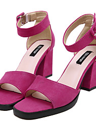 Women's Shoes  Chunky Heel Heels / Fashion Boots / Gladiator / Basic Pump / Comfort / Novelty / Ankle StrapSandals /