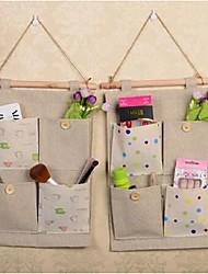 bolsas de almacenamiento de la joyería / lazos abiertos, textiles