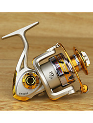 Metal  Fishing Spinning Reel 12 Ball Bearings  Exchangable Handle-EF5000