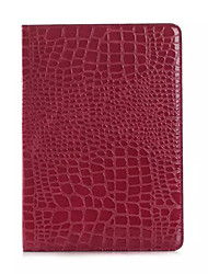 mode crocodile mince étui en cuir de haute qualité pour ipad air 2 Smart Cover avec étui de motif alligator socle