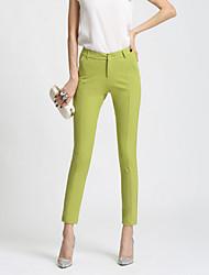 Pantaloni Da donna Skinny Casual / Semplice Poliestere Media elasticità