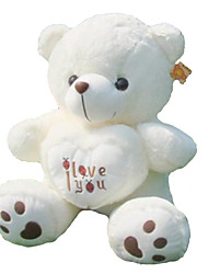 (35.4 inch)Pretty I LOVE YOU Heart Bear Plush Filling PP Cotton Gift