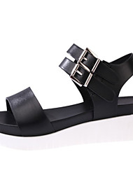 Women's Shoes Leatherette Chunky Heel Wedges / Fashion Boots /  Shoes & Matching Bags / NoveltySandals / Flats / Fashion