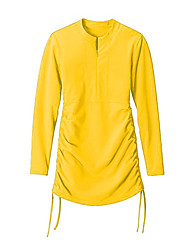 Otros Mujer Traje de buceo Impermeable / Resistente a los UV Trajes térmicos 2-2,4 mm Blanco Blanco S / M / L Buceo