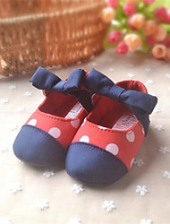 Baby Shoes Dress / Casual PU Flats Red