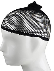 1pc Elastic Stretchable Elastic Fishnet Wig Cap Hair Net Snood Mesh net Weaving for Wigs