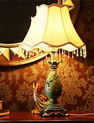 The Bedroom Bedside Lamp Retro Glass Decorative Wood Old Shanghai Desk Lamp