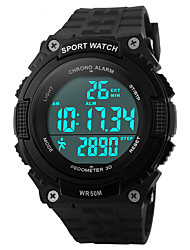 Sports Watch Men's / Ladies' / UnisexLCD / Altimeter / Compass / Pulse Meter / Calendar / Chronograph / Water Resistant / Sport Watch /