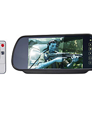 7 Inch Parking TFT-LCD Car Rearview Monitor With Stand Reverse Backup Camera High Quality