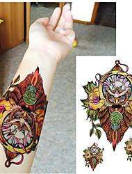 1 Tatouages Autocollants Séries animales ImperméableHomme Femme Adulte Tatouage Temporaire Tatouages temporaires