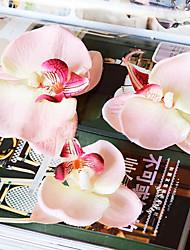 7.5cm DIY Silk Phalaenopsis Artificial Petals Multicolor Optional 1pc/set