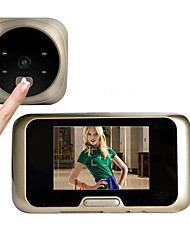 Besteye®3.2 Inch Door Camera with 4 IR Night View Wide Angle Lens Digital Door Viewer Door Bell
