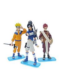 Naruto Sasuke Uchiha Anime Action Figures Model Toys Doll Toy 1pc 12cm