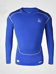 Vansydical Men's Insulated Fitness Tops Green / Blue
