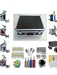 Basekey Tattoo Kit K226 6Guns Machine With Power Supply Grips Cleaning Brush  Needles