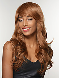 Fascinating Natural Hang Tied Top Quality Human Hair Capless Woman's Wig