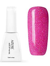 Azure 12ml Colorful Rainbow UV Gel Nail Polish Soak off UV LED Manicure