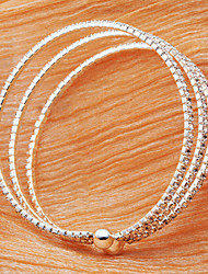 Bracelet/Cuff Bracelets Alloy Imitation Pearl Daily / Casual Jewelry Gift Silver / Rose Gold,1pc