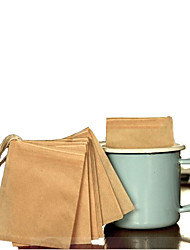 61pcs Disposable String Drawstring Empty Seal Filter Paper Scented Tea Bags