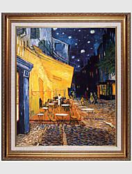 Pintados à mão Paisagem / Floral/BotânicoClássico / Tradicional / Estilo Europeu 1 Painel Tela Pintura a Óleo For Decoração para casa