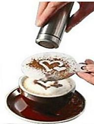 8pcs café novidade fantasia guirlanda de café molde a impressão de moldes