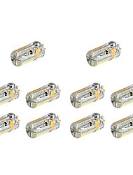 4W G4 LED à Double Broches 72 SMD 3014 360 lm Blanc Chaud Blanc Froid DC 12 AC 12 AC 24 DC 24 V 10 pièces