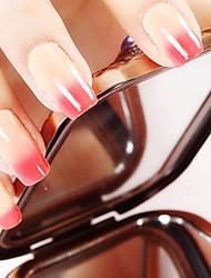 Ekbas Red and Yellow Color Gradient Nail Glue 16ML Nail Polish