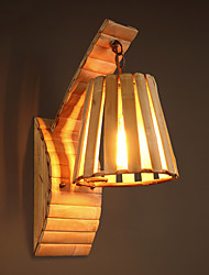 Southeast Asia Style Cottage Romatic Bamboo Hand-made Wall Lamps Rural Nostalgic Classic Lights