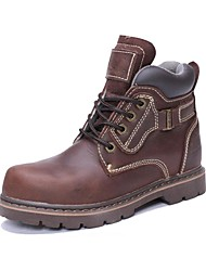 Men's Shoes Outdoor / Office & Career / Work & Duty / Party & Evening / Casual Leather Boots Taupe
