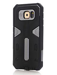 Para Samsung Galaxy S7 Edge Antichoque Capinha Capa Traseira Capinha Armadura PC Samsung S7 edge / S7 / S6 edge plus / S6 edge / S6