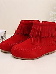 MEISJE-Modieuze laarzen-Laarzen(Zwart / Bruin / Rood)