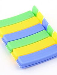 6PCS Candy Color Fresh Food Sealing Clip Family Essential Keep Innovation Kitchen Tools