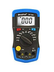 LCD Digital Display Multimeter Capacitance Meter Data Hold Backlight HoldPeak HP-36D