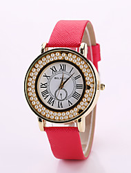 L.WEST Pu fashion ladies watch Cool Watches Unique Watches