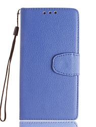 Pour Coque Sony / Xperia X / Xperia XA / Xperia Z5 Porte Carte / Portefeuille / Avec Support / Clapet Coque Coque Intégrale CoqueCouleur
