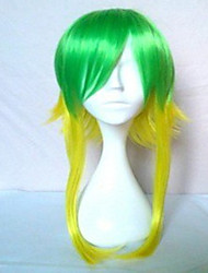 New Stylish Colorful Cosplay Wig Synthetic Hair Wigs Long Straight  Animated Wigs Party Wigs
